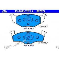 13.0460-7072.2 - ATE CENA 88 PLN - KLOCKI HAMULC. VW GOLF III 93-97