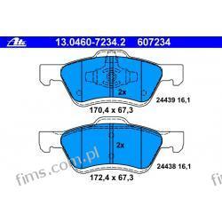 13.0460-7234.2 - ATE CENA 205 PLN - KLOCKI HAMULC. FORD MAVERICK 01- Iskrowe