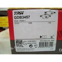 GDB3457 TRW CENA 143 PLN KLOCKI HAMULC. TOYOTA YARIS 06-