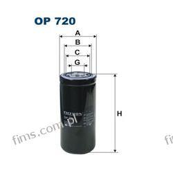 OP720 Filtron Filtr hydrauliczny CENA 130 PLN John Deere; New Holland; Volvo 11448509 WH980/3 P164378
