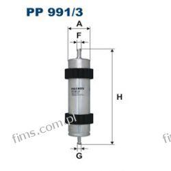 PP991/3 FILTRON Filtr paliwa AUDI A6 2.0-3.0 TDI 04/11-, A7 3.0TDI 10/10-   4G0127400C  WK6008 KL915