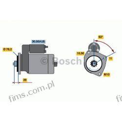 0001125519 BOSCH CENA 840 PLN ROZRUSZNIK 12V VW  TOUAREG  059911023S