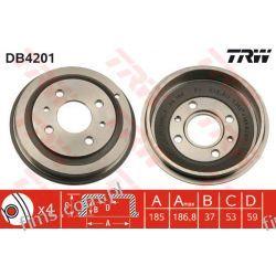 DB4201 TRW CENA 116 PLN BĘBEN HAMULC. FIAT SEICENTO 98-  46448407  4644847