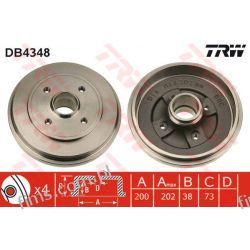 DB4348 TRW CENA 130 PLN BĘBEN HAMULC. OPEL AGILA 03-07 4707272  9214294  2832S
