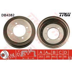 DB4382 TRW CENA 195 PLN BĘBEN HAMULC. MITSUBISHI GALANT  LANCER   MB668540  2614S