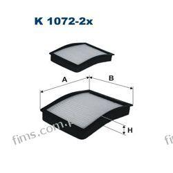K1072-2X FILTRON FILTR POWIETRZA KABINOWY BMW E36-5 94-  E46 320TD  64118363274  CU1006-2  64319071933