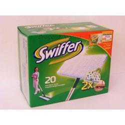 SWIFFER suche antyst. ściereczki 18 szt.