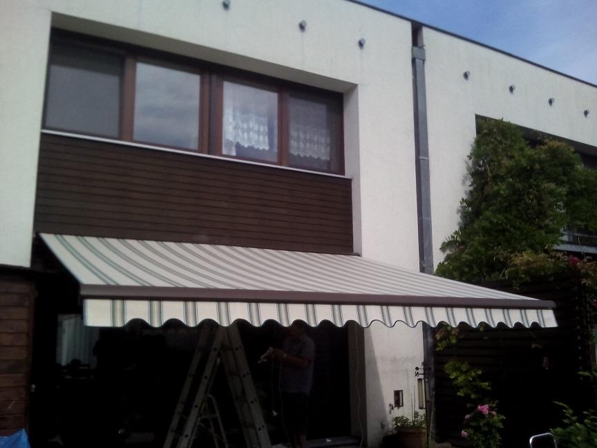 Markiza Tarasowa Green House 400 X 250 Wysięg Cm