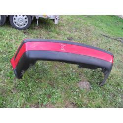 VW Passat B5 zderzak tyl tylny czerwony sedan