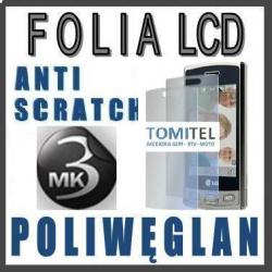 Markowa folia na LCD 3MK Poliwęglan LG GM360 BALI