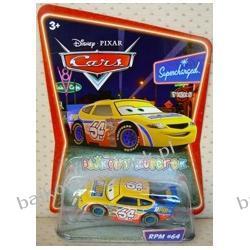 RPM #64 z bajki CARS produkcji DISNEY PIXAR, firmy MATTEL