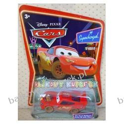 ZYGZAK brudny (org. Dirt Track McQueen) z bajki CARS produkcji DISNEY PIXAR, firmy MATTEL
