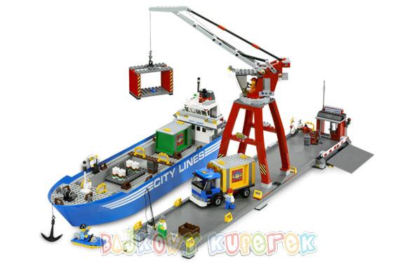 Порт - конструктор Лего City - Lego 7994.
