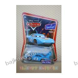 KING /PAN KRÓL/ - DISNEY PIXAR CARS firmy MATTEL