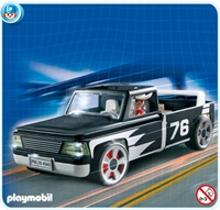 PLAYMOBIL 4340 Wyœcigi - PICK-UP CLICK & GO