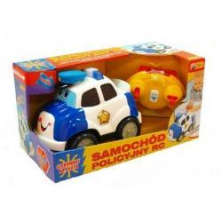 SAMOCHÓD POLICYJNY RC (ZDALNIE STEROWANY) KIDDIELAND KI42994