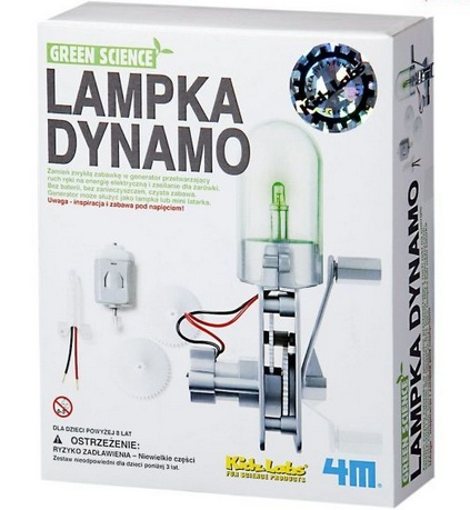 LAMPKA DYNAMO firmy 4M
