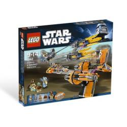 LEGO STAR WARS 7962 - ANAKIN'S SEBULBA'S PODRACERS Karabiny