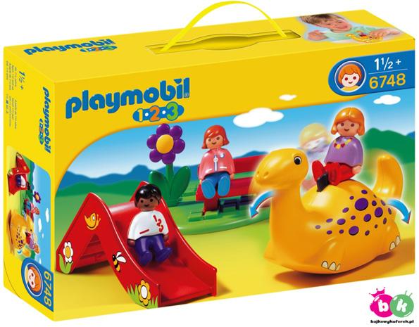 PLAYMOBIL 6748 1.2.3 -PLAC ZABAW