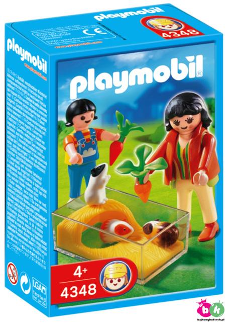 PLAYMOBIL 4348  Lecznica - ŒWINKA MORSKA W AKWARIUM