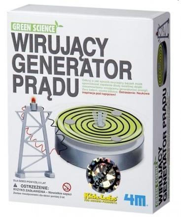 WIRUJĽCY GENERATOR PRĽDU firmy 4M