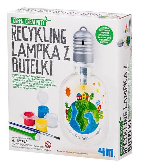 RECYKLING LAMPKA Z BUTELKI firmy 4M