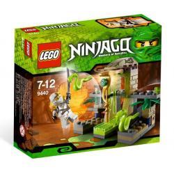LEGO NINJAGO 9440 - ŚWIĄTYNIA VENOMARI  Karabiny