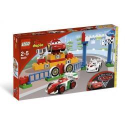 LEGO DUPLO CARS 5839 - MIĘDZYNARODOWE WYŚCIGI GRAND PRIX