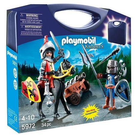 PLAYMOBIL 5972 Moje przenoœne zabawki - SKRZYNKA RYCERZE