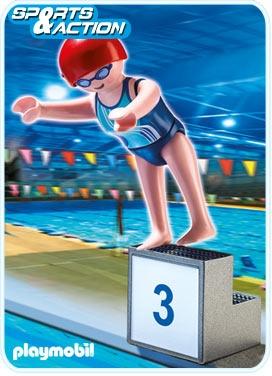 PLAYMOBIL 5198 Dyscypliny Olimpijskie - PŁYWACZKA