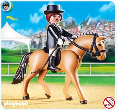 PLAYMOBIL 5111 Kolekcja koni - NIEMIECKI WIERZCHOWIEC