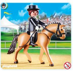 PLAYMOBIL 5111 Kolekcja koni - NIEMIECKI WIERZCHOWIEC  Karabiny