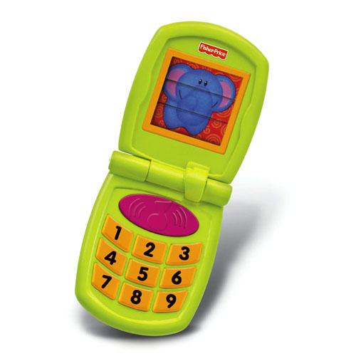TELEFONIK DLA MALUSZKA Z DŹWIĘKAMI firmy FISHER PRICE W3115