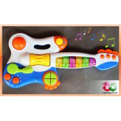 Muzyczna kolorowa GITARKA dla maluchów Karabiny
