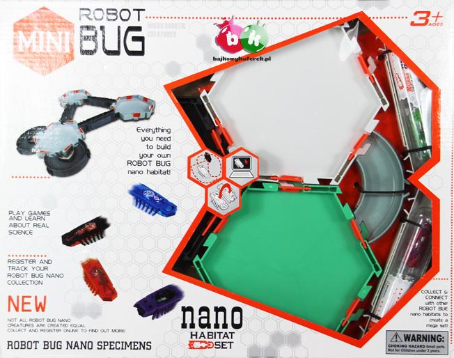 Zestaw uzupełniajšcy do HEX BUG + 2 robaczki NANO