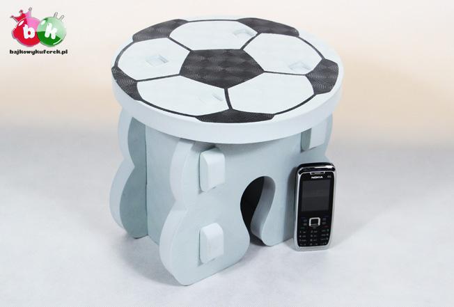 Piłkarskie krzesełko dla dziecka i dorosłego