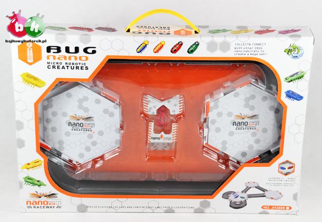 NANO ARENA z platformami + NANO robak uzupełnienie zestawów HexBUG