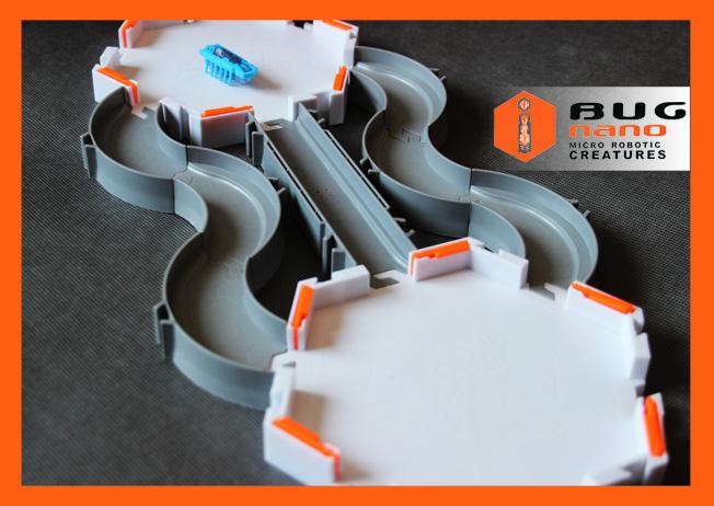 Zestaw NANO HABITAT z dwoma platformami + NANO robak + zapasowe baterie