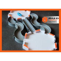 Zestaw NANO HABITAT z dwoma platformami + NANO robak + zapasowe baterie Karabiny