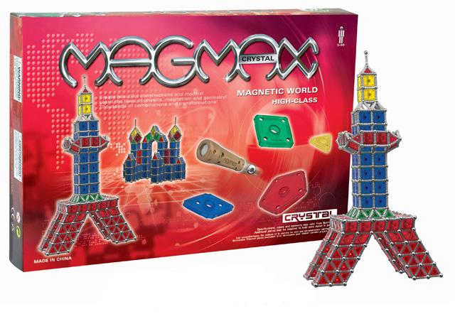 Klocki magnetyczne MAGMAX PANELS 220el. MAGNETIC WORLD
