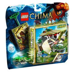 LEGO CHIMA 70112 - KROKODYLI GRYZ Karabiny