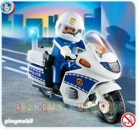 PLAYMOBIL 4262  Policja - POLICJANT NA MOTOCYKLU