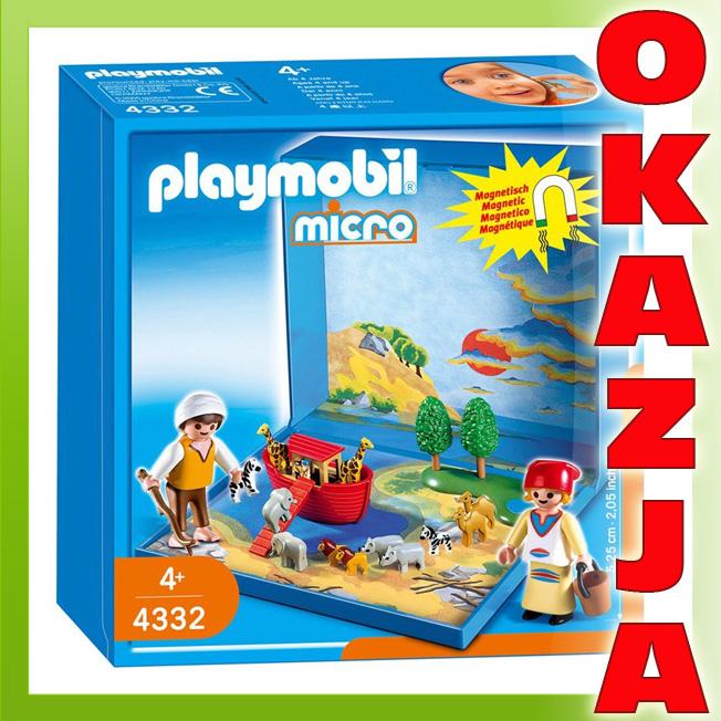 ŒWIAT MIKRO - ARKA NOEGO - PLAYMOBIL 4332