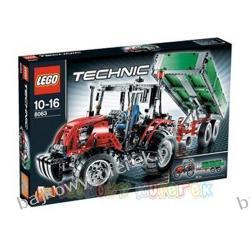 LEGO TECHNIC 8063 - TRAKTOR Z PRZYCZEPĄ