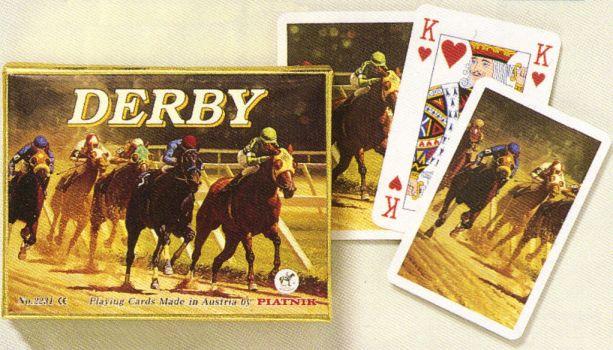 KARTY DO GRY DERBY firmy PIATNIK 2231s