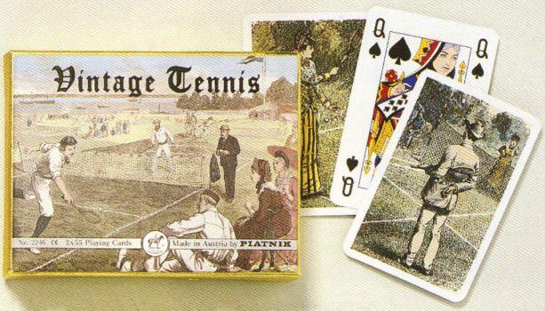 KARTY DO GRY VINTAGE TENNIS firmy PIATNIK 2246s