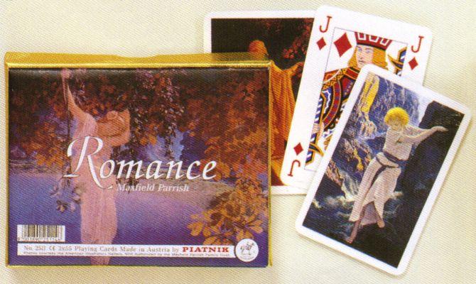 KARTY DO GRY ROMANCE MAXFIELD PARRISH firmy PIATNIK 2511