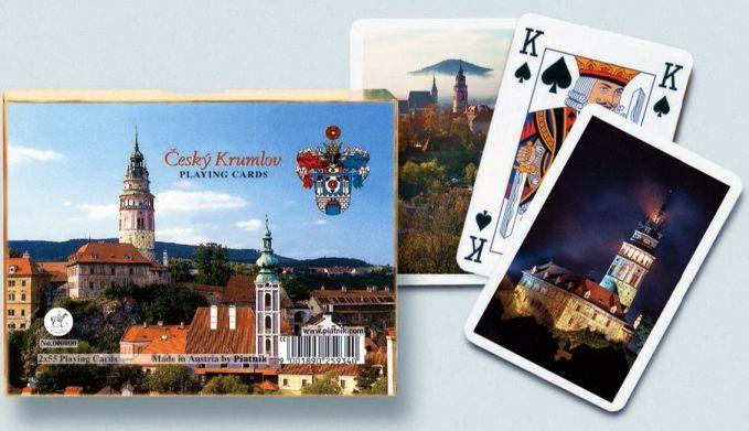 KARTY DO GRY CZESKI KRUMLOV firmy PIATNIK 2556