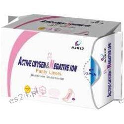 AiRiZ- Wkładki higieniczne z aktywnym tlenem i jonami ujemnymi