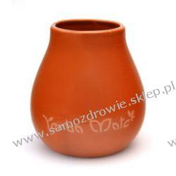 Matero Ceramiczne Calabaza 6 z logo yerba mate Oczyszczanie